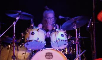 Veronica Arvidsson i Steamroller på Parkliv 2019. Foto: David Fryxelius.