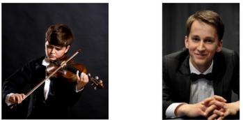 Matvei Blumin och Daumants Liepins. Foto: Arvika konsertförening.