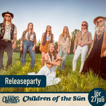 Releaseparty med Children Of The Sün på Olssons brygga.