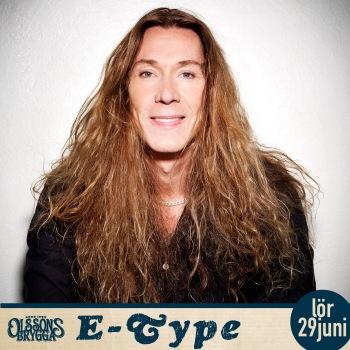 E-Type spelar på Olsson brygga 29 juni 2019.