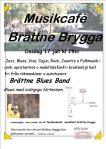 Affisch Musikfest Brättne brygga 17 juli 2019.