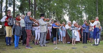 Brunskogs spelmanslag. Foto: Brunskogs hembygdsförening.
