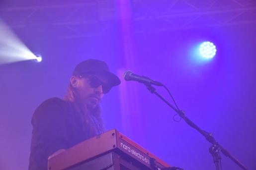 Emil Solberg Wachenfeldt på By Lightnings konsert på Arvika Hamnfest 2019. Foto: David Fryxelius.