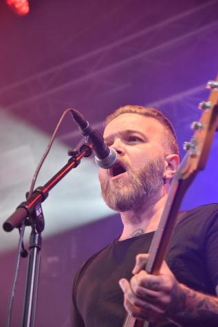 Jimmy Dahlgren på By Lightnings konsert på Arvika Hamnfest 2019. Foto: David Fryxelius.
