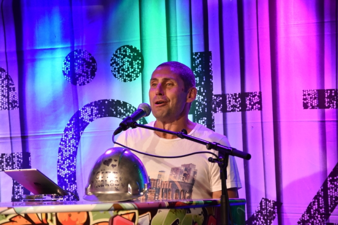 Götz Kalas på Arvika Hamnfest 2019. Foto: David Fryxelius.