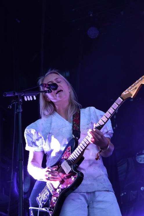 Musiker på Veronica Maggios konsert på Arvika Hamnfest 2019. Foto: David Fryxelius.