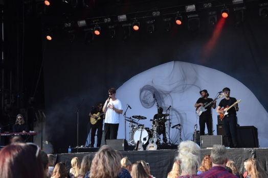 Albin Lee Meldau på Arvika Hamnfest 2019. Foto: David Fryxelius.