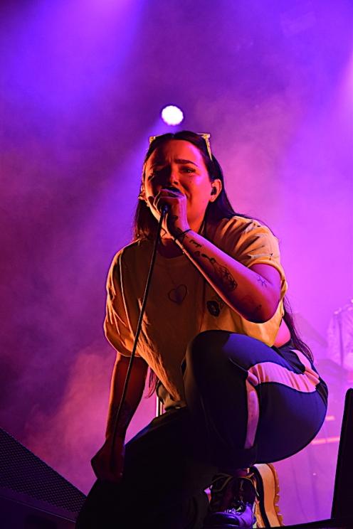 Miriam Bryant på Arvika Hamnfest 2019. Foto: David Fryxelius.
