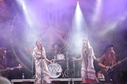 Nephila på Arvika Hamnfest 2019. Foto: David Fryxelius.