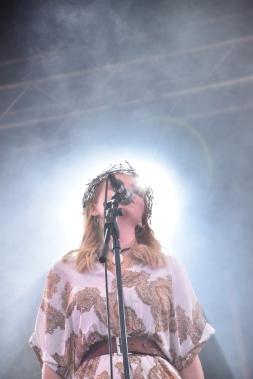 Josephine Asker i Nephila på Arvika Hamnfest 2019. Foto: David Fryxelius.