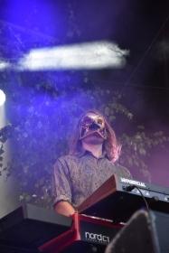 Johan Larsson i Nephila på Arvika Hamnfest 2019. Foto: David Fryxelius.