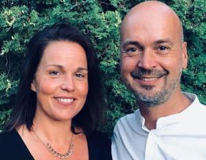 Sarah och David Åström. Foto: Privat.