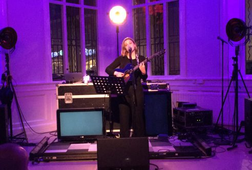 Sarah Handsworth på Arvika Konsthall. Foto: David Fryxelius.