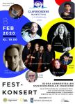 Affisch: Glafsfjordens musikfestival 2020.