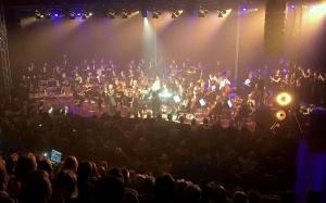 Musikskolans symfoniorkester. Foto: Malin Linell.