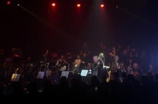 Bröderna Rongedal och Musikskolans symfoniorkester. Foto: David Fryxelius.