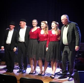 The Hebbe Sisters och Jan Adefelt Trio. Foto: David Fryxelius.