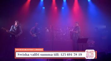 "Lingwall Larsson Band på insamlingsgalan ""Music against Covid-19""."