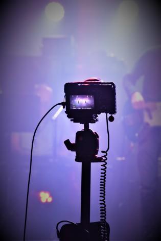 Videoproduktion på Music against Covid-19 del 2 på Ritz. Foto: David Fryxelius.