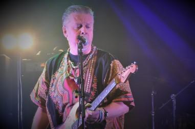 Torbjörn Solberg på Music against Covid-19 del 2 på Ritz. Foto: David Fryxelius.