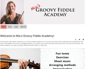 Mia's Groovy Fiddle Academy