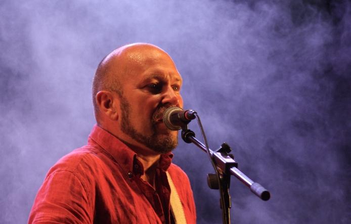 Björn A. Ling på Allsångskryssning på Piren Live 2020. Foto: David Fryxelius.