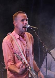 Johan Östling på Allsångskryssning på Piren Live 2020. Foto: David Fryxelius.