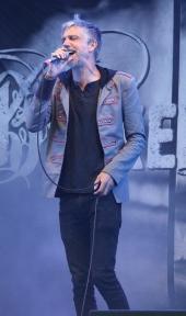 Tobias Östlund i Broken Door på Piren Live 2020. Foto: David Fryxelius.