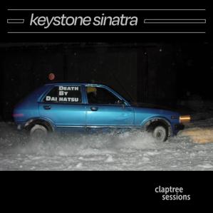 """Skivomslag """"Claptree Sessions"""" av Keystone Sinatra."""