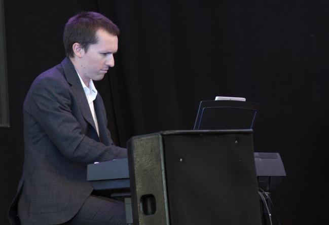 Ernst Erlandson på Piren Live 2020. Foto: David Fryxelius.