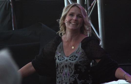 Angela Petré på Piren Live 2020. Foto: David Fryxelius.