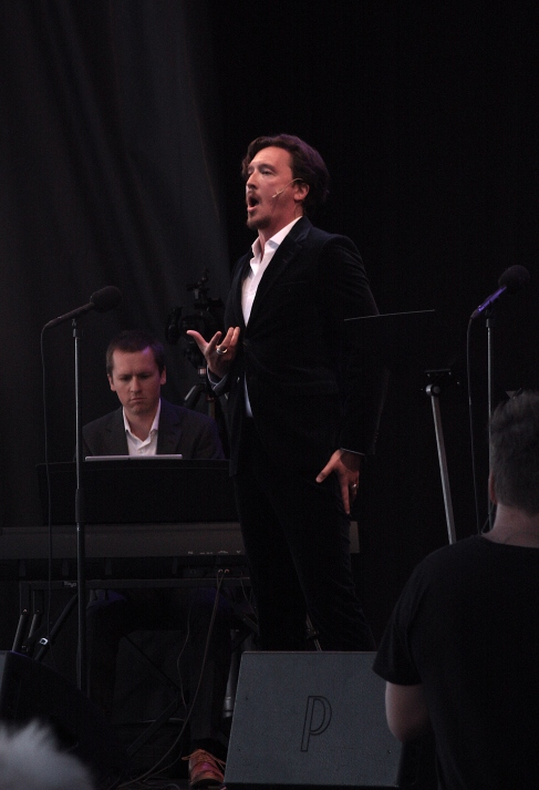 Richard Hamrin och Ernst Erlandson på Piren Live 2020. Foto: David Fryxelius.