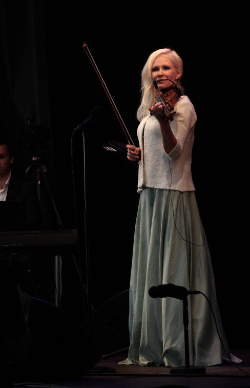 Linda Lampenius på Piren Live 2020. Foto: David Fryxelius.