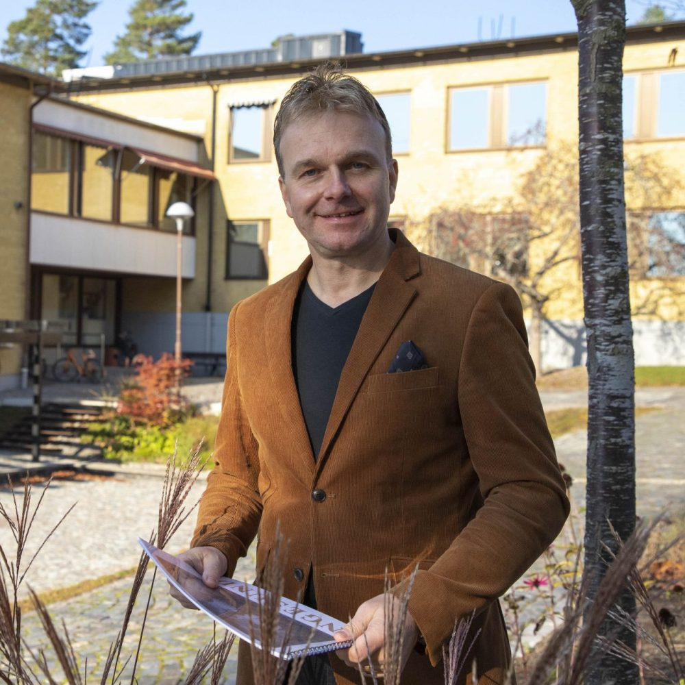 Johan Birgersson, Musikhögskolan Ingesund. Foto: Viktoria Fyhr.