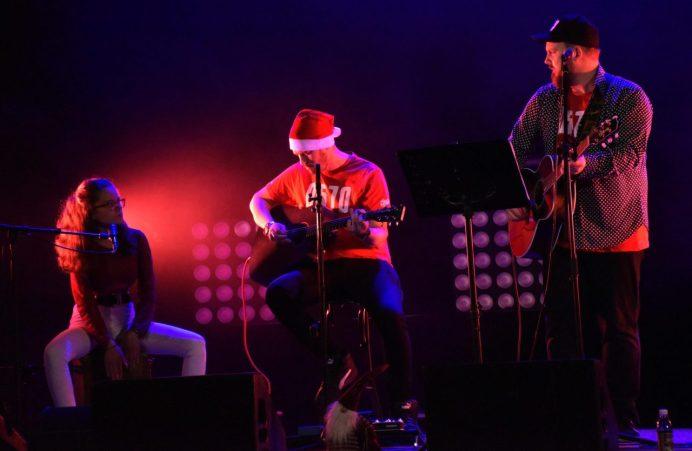 Linnea Waljestål, Henrik Strandberg och Christopher Edgar. Foto: Paulina Haglund.
