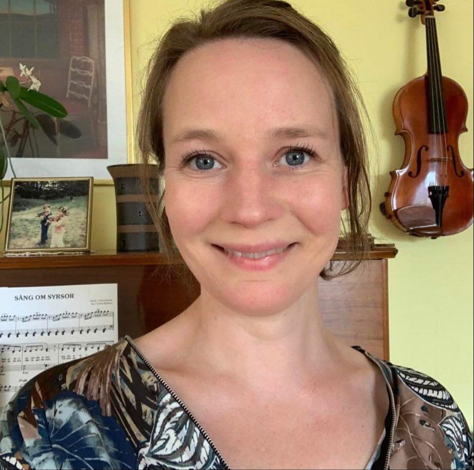 Malin Linell, kulturskolechef i Arvika.