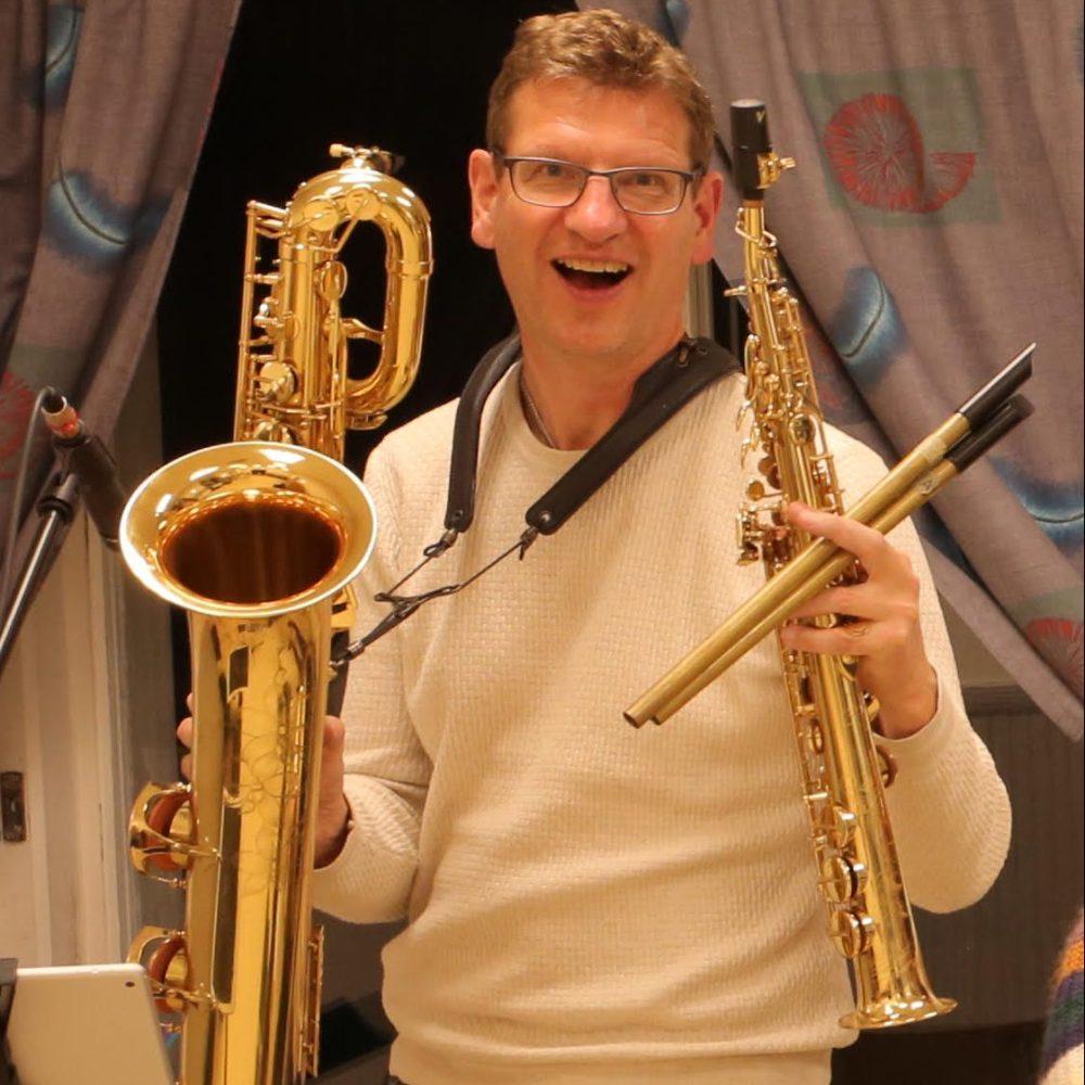 Mats Liljedahl, saxofonist.