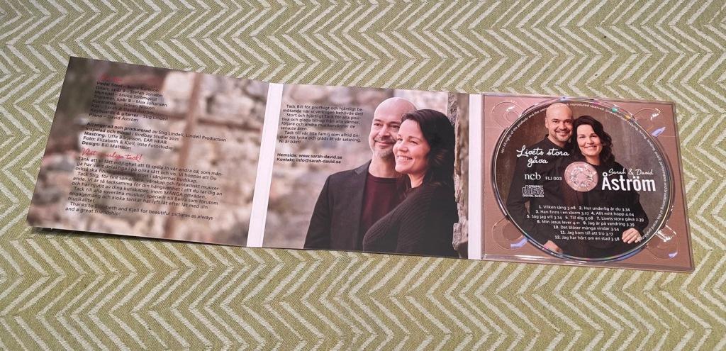 CD: Livets stora gåva med Sarah & David Åström.